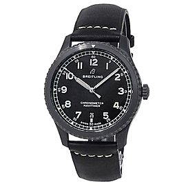 Breitling Navitimer 8 Stainless Steel Leather Automatic Black Men's Watch M17314