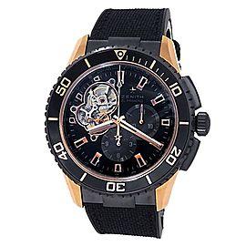 Zenith El Primero Stratos Spindrift Rose Gold Black Watch 86.2060.4061/21.R573