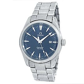 Omega Seamaster Aqua Terra Stainless Steel Automatic Blue Men's Watch 2517.80.00