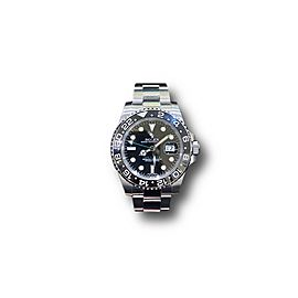 Rolex GMT-Master II Oyster 40mm Stainless steel ref#116710LN