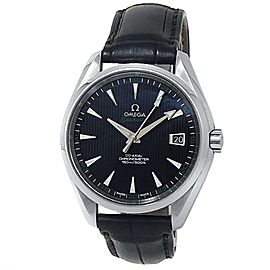 Omega Seamaster Aqua Terra Stainless Steel Black Men's Watch