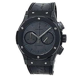 Hublot Classic Fusion Berluti Ceramic Auto Black Mens Watch 521.CM.0500.VR.BER17