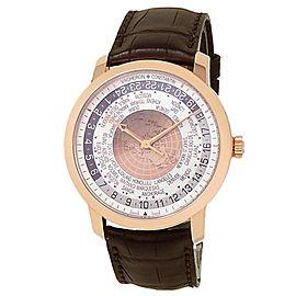 Vacheron Constantin Traditionnelle 18k Rose Gold Auto Mens Watch 86060/000R-8985