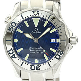 Polished OMEGA Seamaster Professional 300M Steel Mid Size Watch 2263.80