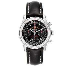 Breitling Navitimer Black Dial Chronograph Mens Watch A23322 Box Papers