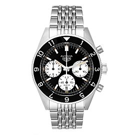 Tag Heuer Autavia Heritage Calibre Heuer 02 Steel Mens Watch CBE2110