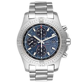 Breitling Colt Blue Dial Automatic Chronograph Steel Mens Watch A13388