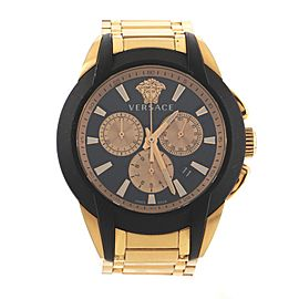 Versace Character Chronograph Quartz Watch Stainless Steel 42