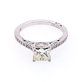 Tacori 2638 PRP 5.5 W 18k White Gold Diamond Ring