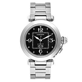 Cartier Pasha C Midsize Black Dial Automatic Ladies Watch W31053M7
