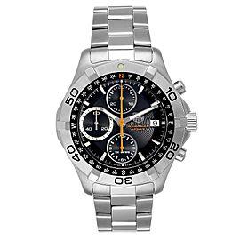 Tag Heuer Aquaracer Black Dial Chronograph Mens Watch CAF2113