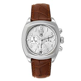 Tag Heuer Monza 37mm Silver Dial Chronograph Steel Mens Watch CR5111