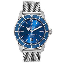 Breitling Superocean Heritage 46 Mesh Bracelet Watch A17320