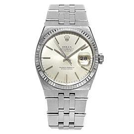 Rolex Datejust Oysterquartz 17014 36mm Mens Watch