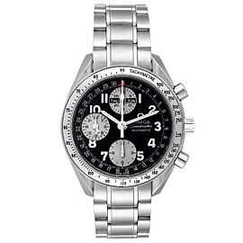 Omega Speedmaster Tripple Calendar Black Arabic Dial Watch 3523.51.00