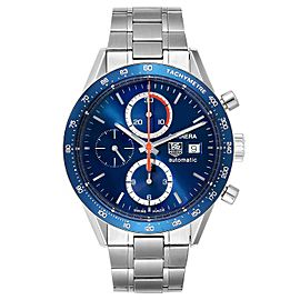 Tag Heuer Carrera 40th Anniversary Legend Steel Mens Watch CV2015