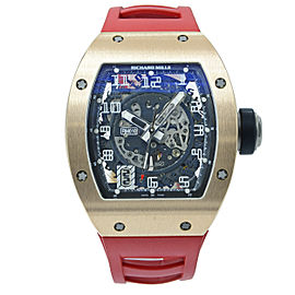 Richard Mille Transparent RM-010 48mm Mens Watch