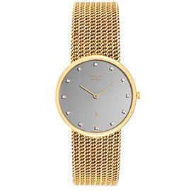 Chopard Classique 18K Yellow Gold Quartz Mens Watch 1091