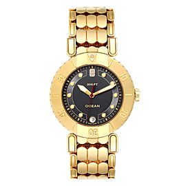 Harry Winston Submariner Ocean 38mm 18K Yellow Gold Mens Watch