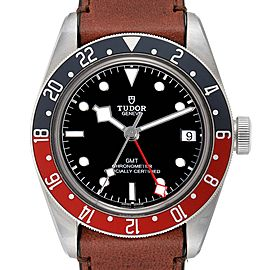 Tudor Heritage Black Bay GMT Pepsi Bezel Mens Watch 79830RB Unworn