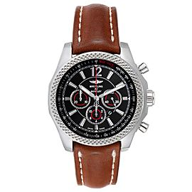 Breitling Bentley Barnato 42 Chronograph Black Dial Mens Watch A41390