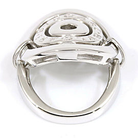 BVLGARI BULGARI 18K White Gold Astrale Cerchi Ring CHAT-4