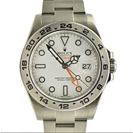 Rolex Explorer II 216570 Stainless Steel 42mm Mens Watch