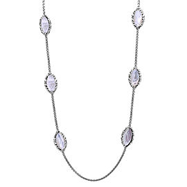 Charles Krypell Sterling Silver Mother of Pearl Necklace