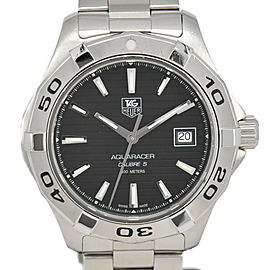 TAG HEUER Aqua racer WAP2010 black Dial Automatic Men's Watch