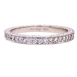 Jack Kelege Platinum Diamond Ring