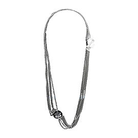 Montblanc Sterling Silver Caress Star Necklace