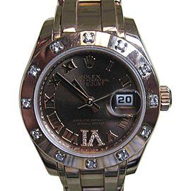 Rolex Datejust 80315BRRDPM 29mm Womens Watch
