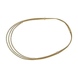 Marco Bicego Santorini 18K Yellow Gold Diamond Necklace