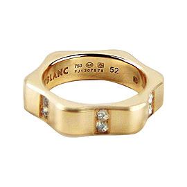 Montblanc 18K Rose Gold & Diamond Star Ring Size U.S. 6 ; EU 52