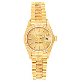 Rolex President Datejust 18K Yellow Gold Ladies Watch 69278