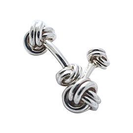 Tiffany & Co. Sterling Silver Knot Cufflinks