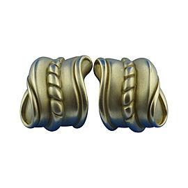 Kieselstein Cord 18K Yellow Gold Clip On Earrings