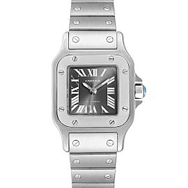 Cartier Santos Galbee Grey Dial Automatic Steel Ladies Watch W20066D6