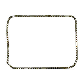 Cartier 18K Yellow Gold Groovy Link Chain Necklace