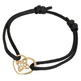 Louis Vuitton 18K Rose Gold Pendentif Coeur Bracelet