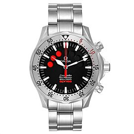 Omega Seamaster Apnea Jacques Mayol Black Dial Mens Watch 2595.50.00