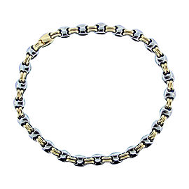 Bulgari 18K Yellow Gold & Stainless Steel Timeless Necklace
