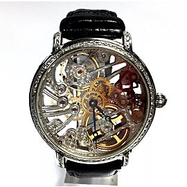 Maurice Lacroix Stainless Steel Skeleton Case 43mm Unisex Watch