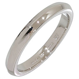 Bulgari Platinum PT950 Band Ring Size 7.5