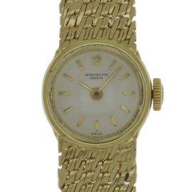 Patek Philippe 3215/29 18K Yellow Gold Manual Vintage 16mm Womens Watch