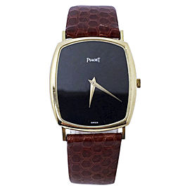 Piaget 9741 N15 18K Yellow Gold Manual 29mm Unisex Watch