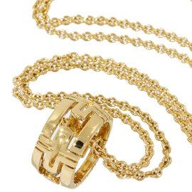 Bulgari Parentesi 18K Yellow Gold Design Chain Necklace