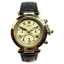 Cartier Pasha De 18K Yellow Gold Automatic 38.5mm Mens Watch
