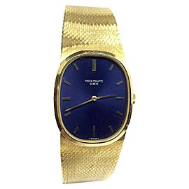 Patek Philippe 18K Yellow Gold Hand-Winding 27mm Unisex Watch