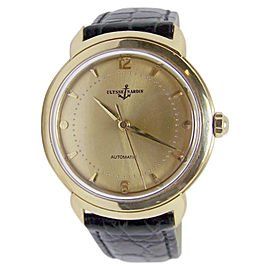 Ulysse Nardin 14K Yellow Gold Automatic Vintage 35mm Mens Watch